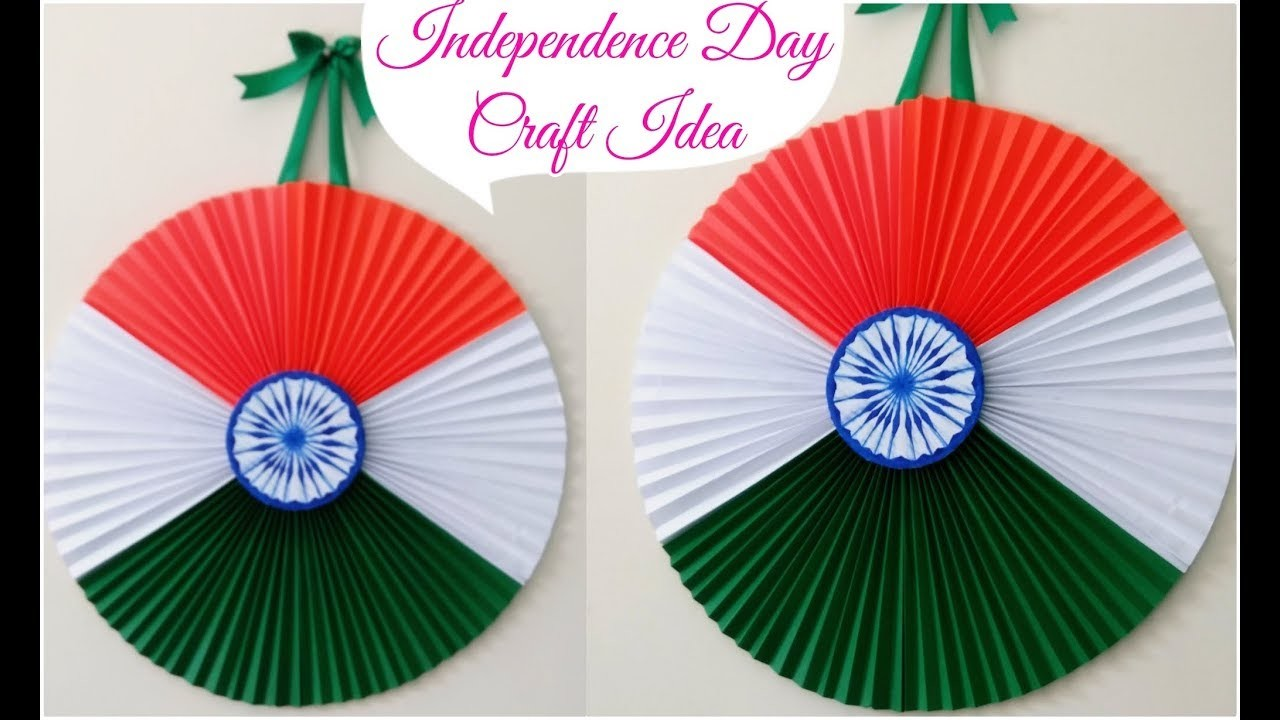 Diy Independence Day Decoration Ideas Easy Independence Day Craft