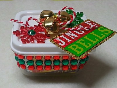 DIY~Make Cute Mini Candy Bar Holders For Christmas Craft Fairs Using D.T. Materials!