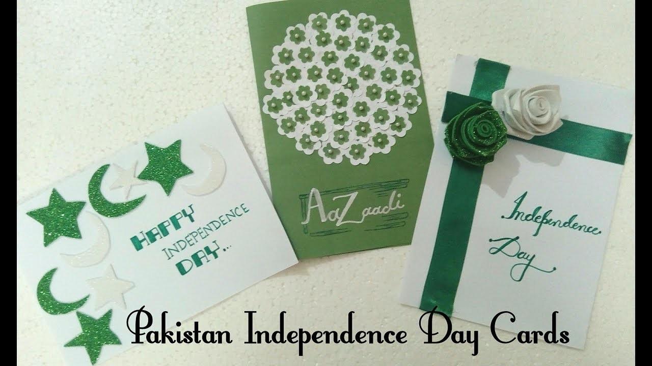 DIY Pakistan Independence Day Cards 2018  Art, Craft and Health