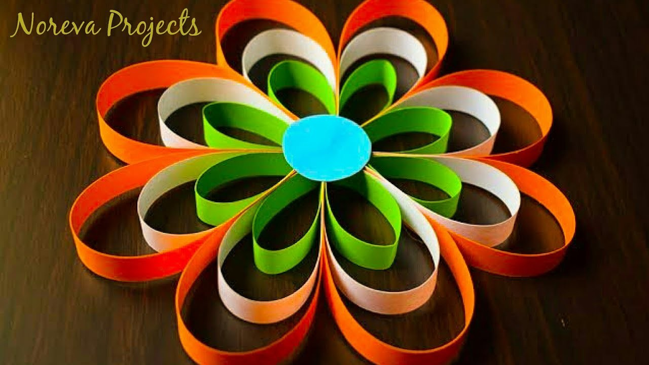 DIY Paper Crafts, Tricolour| Independence Day Craft