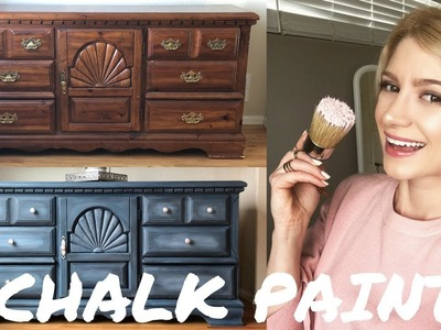 Dresser Makeover - How To Layer And Blend W. Annie Sloan Chalk Paint