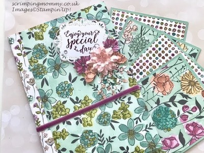 EASY large pocket mini album, craft fair idea, swaps, gifts
