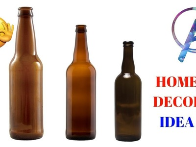 Home decor craft from old bottle | best out of waste