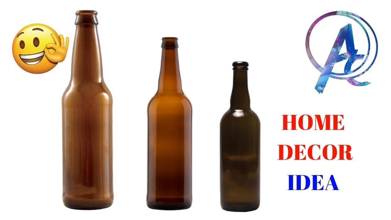 Home decor craft from old bottle   best out of waste