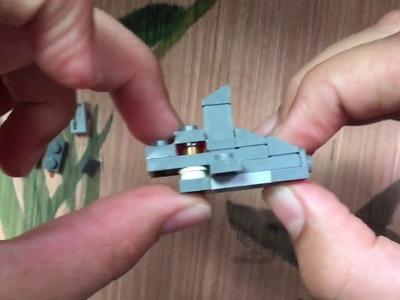 How to build a mini LEGO shark