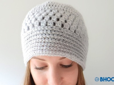 How to Crochet a Hat: Fall Glam Lace Crochet Hat