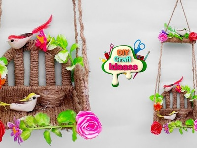 How to make a Birds Wall Hanging at home | best out of waste | diy craft ideas