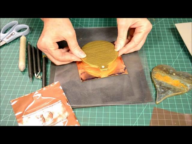 How to make a Copper Ornament
