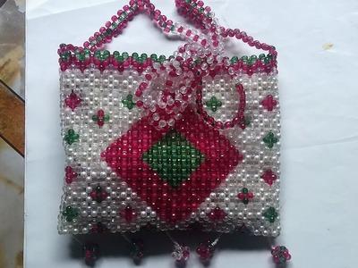 How to make crystal beaded  bags -Latest beaded purses_putir kaj_beaded bags.