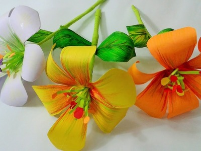 How to make paper flowers,Diy craft