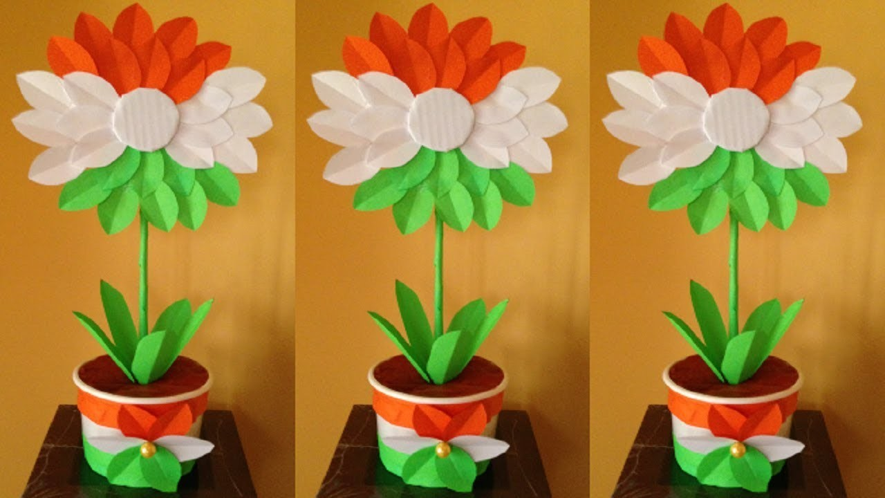 Independence Day Craft Ideas India 2018 Tricolor Craft Ideas 2018