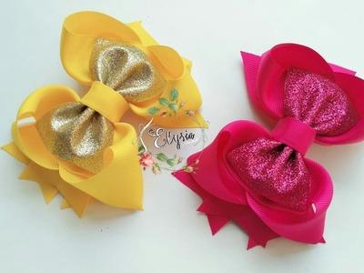 Laço Boutique Blink blink ???? Ribbon Bow ???? DIY by Elysia Handmade