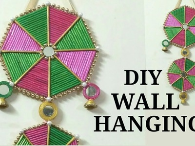 Newspaper Craft || DIY Wall Hanging || Room Decor ||