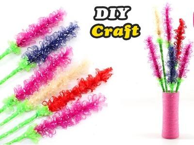 Old Cloth Flowers Craft Design   Easy DIY Craft   Sonali Creations