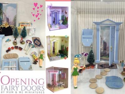 OPENING FAIRY DOOR | Open the door to make believe | Fairies and Magic | Liam and Taylor's Corner