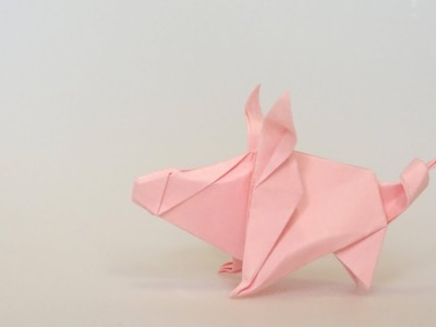 ORIGAMI PIG (Anh Dao)