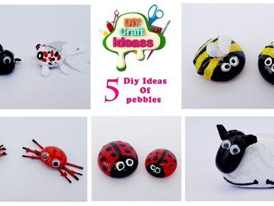Pebbles diy ideas #pebbles #DIY art And Crafts || arush diy craft ideas