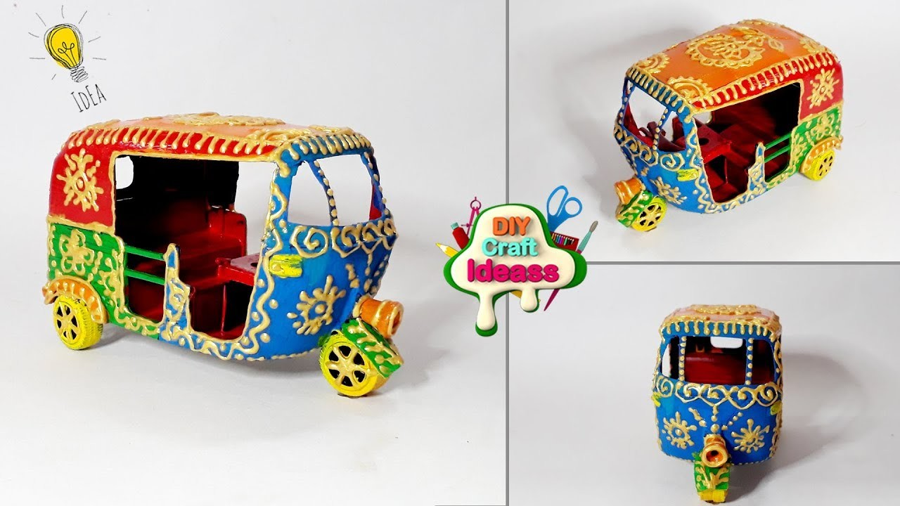 Plastic Craft Idea Best Out Of Waste With Waste Kids Toys Arush