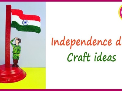Tiranga Craft - Independence Day craft ideas for preschool