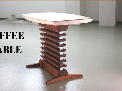 Tony Stark Style Coffee Table. Making Coffee Table