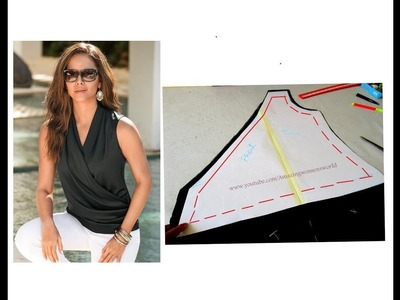 Western Top.Tunic Drafting | Cutting - Simple & Easy Making at  home  | DIY