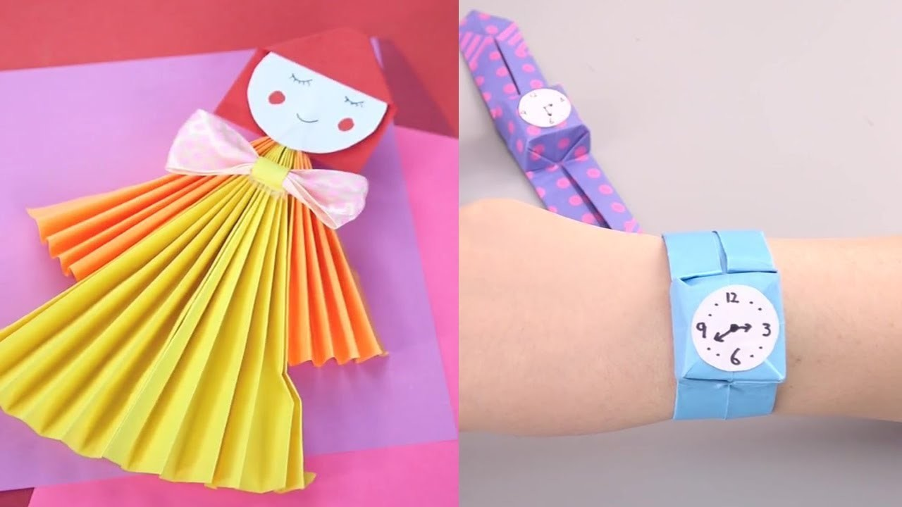 14 Paper Folding Ideas For Children Paper Craft Ideas You Will Love
