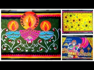 15 new Diwali decoration ideas-2018  , Diwali art and craft ideas for school , classroom and homes