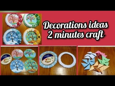 Art For Kids 2 Minute Craft For Decoration Decoration Ideas