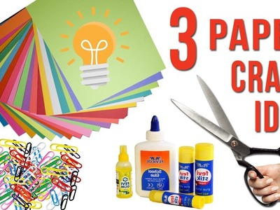 3 Craft idea with Color Paper | DIY Best Idea with Paper | Home Decor