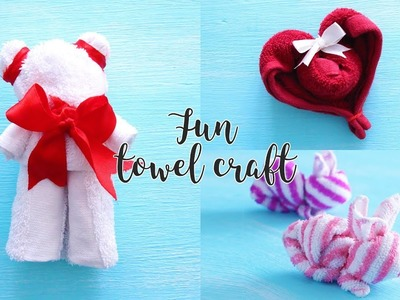 3 Fun Towel Craft Ideas | DIY Activities