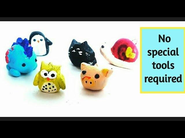 6 Cute Mini Animals Diy M Seal Craft Ideas How To Make Easy Diy