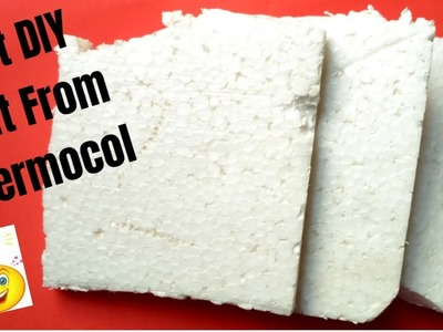 Best DIY craft ideas out of Thermocol.How to Reuse Waste Thermocol. Best out of waste.
