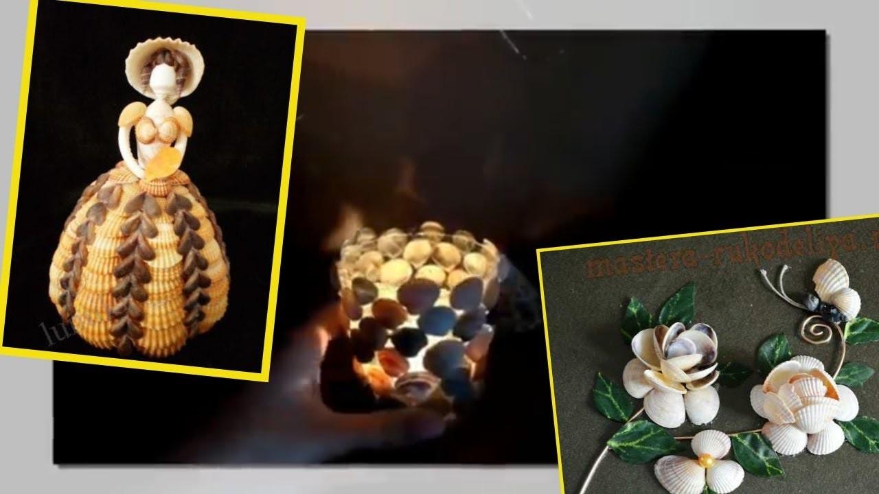 Best Diy Seashell Decor Ideas Sea Shell Craft Making Ideas Crafts