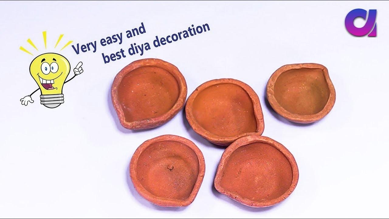Diwali Decoration Idea    Best out of waste   Artkala
