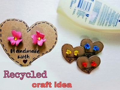 DIY Best recycled craft idea.Recycled craft with old shampoo bottle