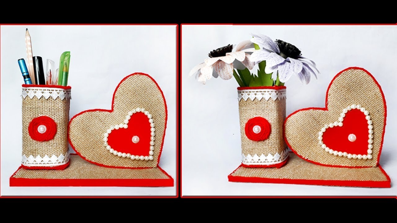 DIY Craft Ideas Best Out Of Waste.Twine Craft Idea.Jute Craft.Recycled materials Craft