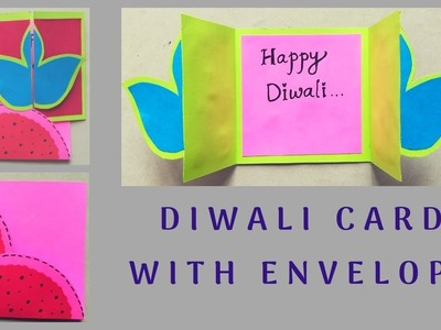 DIY Diwali Card with Envelope | Craft it Right