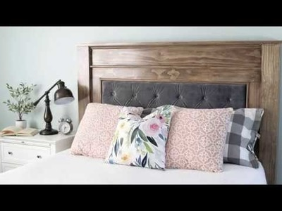 DIY Headboard Project w.Jennifer Voelkel of The Craft Patch | Arrow Fastener