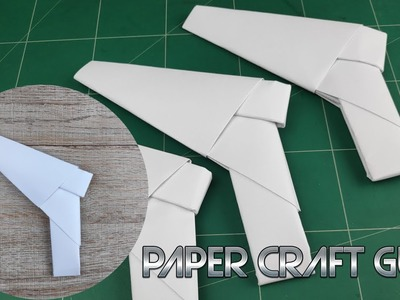 DIY Paper Weapons Gun | How To Make Easy Paper Mini Craft Tutorials | Origami Toy Kids