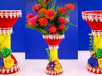 DIY: Plastic Bottle Recycling - Funnel Reuse Craft Idea - DIY Room Decor