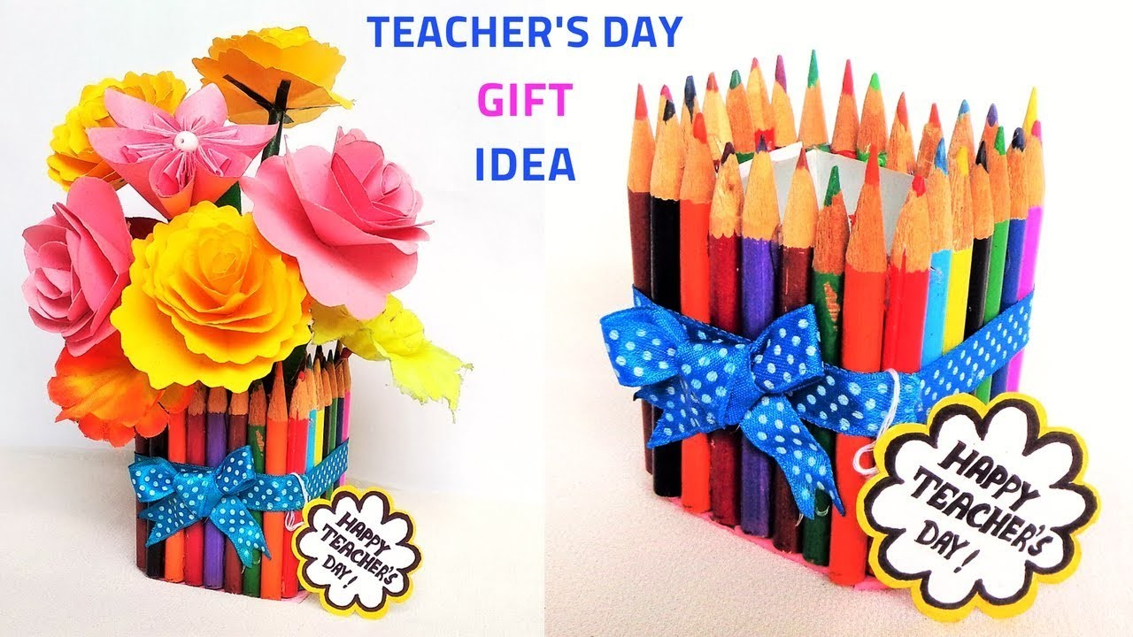 DIY: Teacher's Day gift idea |Best out of waste | Easy Craft