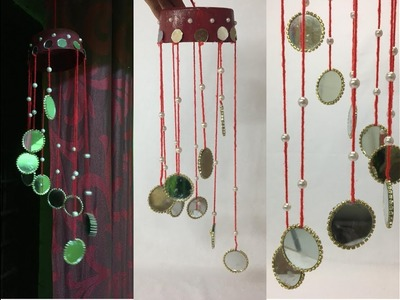 Diy wind chime making at home - simple wind chime craft idea