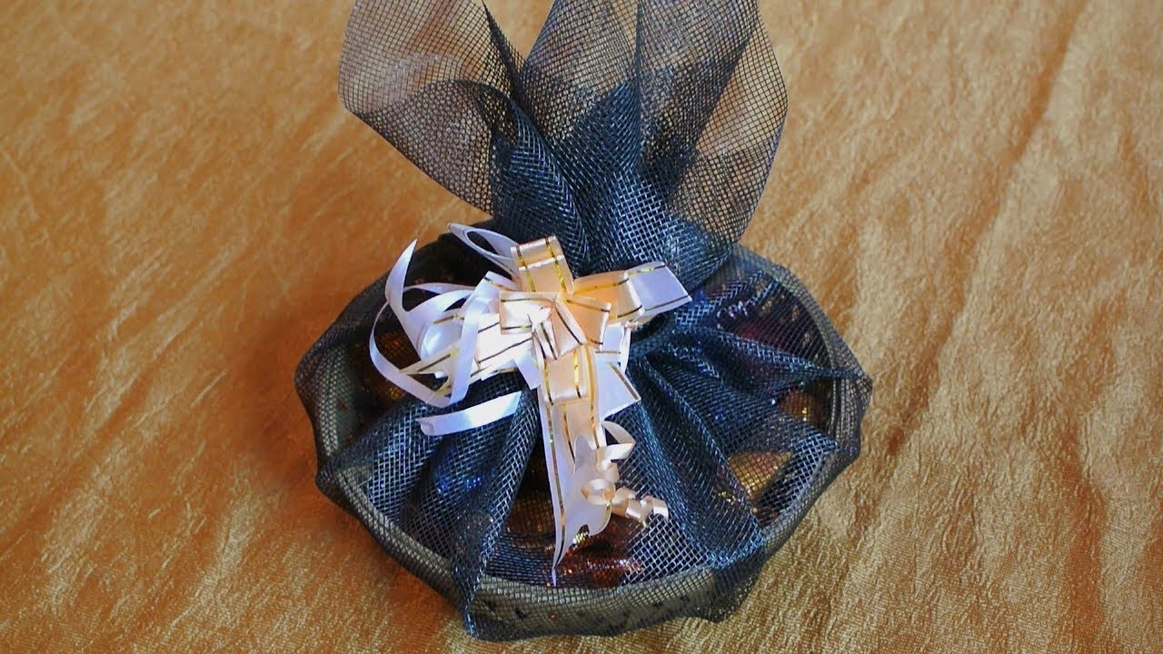Easy Craft   Gift Wrapping Ideas   Chocolate Packing