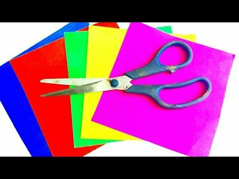 Easy paper and newspaper craft | paper flower  | best out of waste | reuse ideas | art and craft