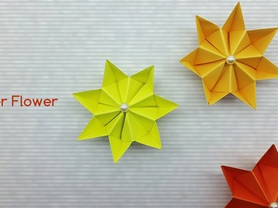 Easy Paper Flower Making Tutorial - DIY Paper Craft Ideas