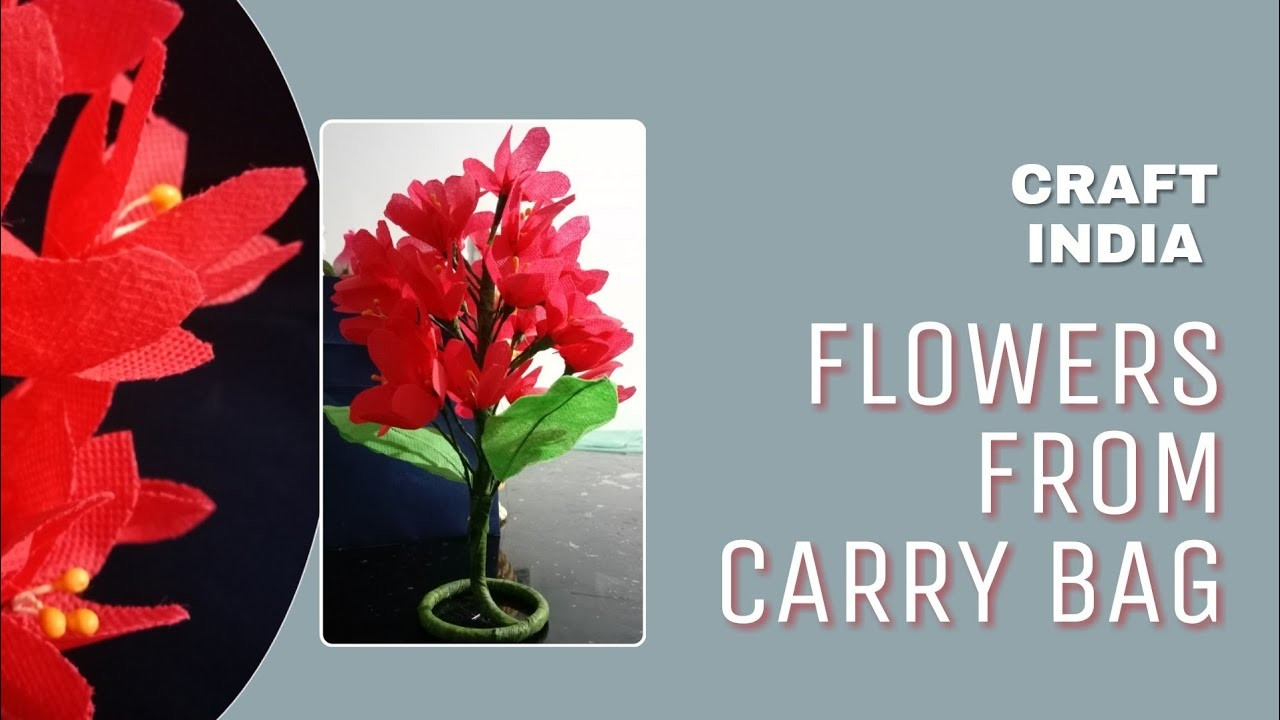 Cozy Flowers From Paper Bag Easy Step By Step Video Craft India