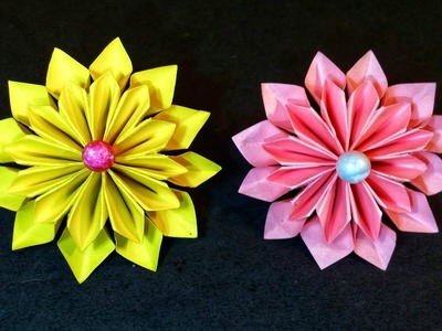 How To Make A Paper Flower - DIY Simple Paper Craft