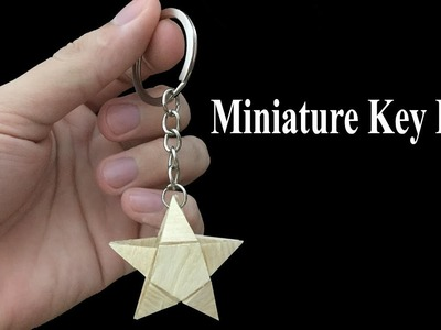 How to make miniature key ring, art and crafts, diy easy craft ideas