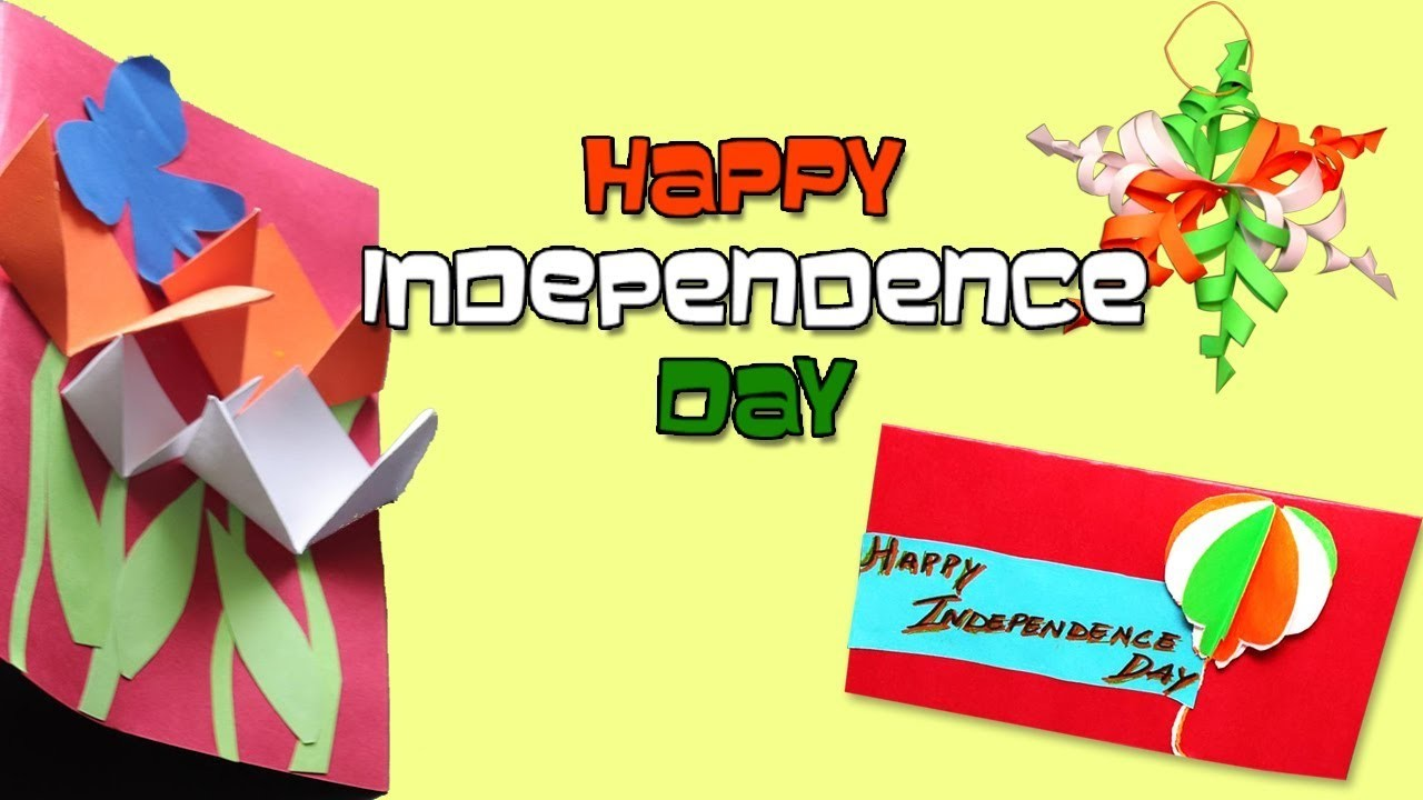 Handmade Independence Day Decorations Easy Handmade Paper Craft