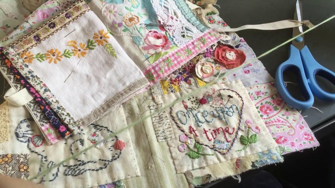 Jessie Corley friendship quilt   update   craft with me   part 2